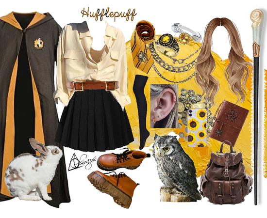 Persephone Goldbloom // Harry Potter Hufflepuff OC