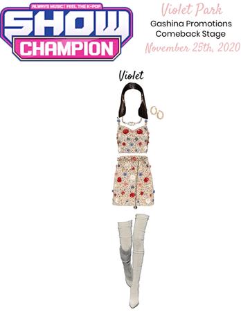 VioletPark _ Gashina Show Champion Performance