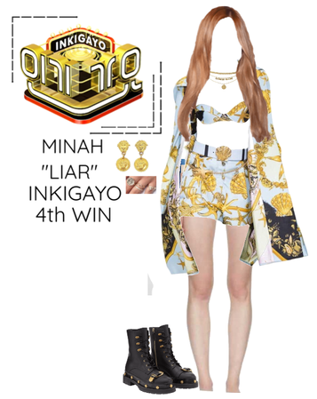 "Minah - ""LIAR"" Inkigayo & 4th Win"