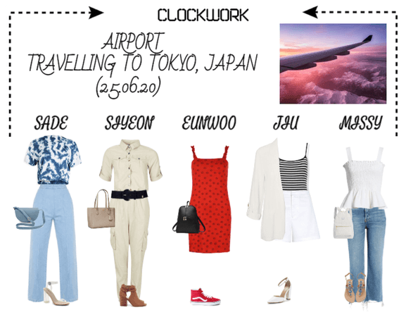 *CWK*| AIRPORT OUTFIT | TRAVELLING TO TOKYO, JAPAN