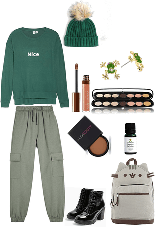 Simple Monday Look (for school)