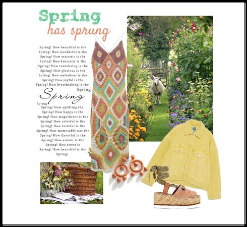 Spring has sprung ~ Crazy Crochet