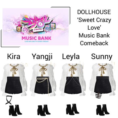 {DOLLHOUSE} 'Sweet Crazy Love' Music Bank Comeback Show