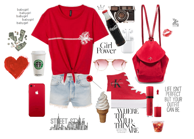 Wear Red Day Style: Flashback St.