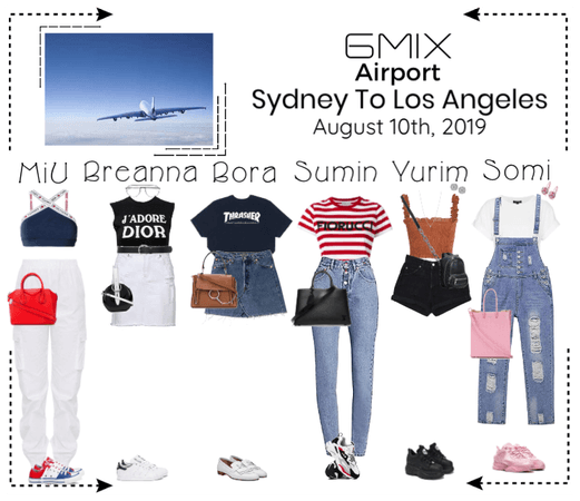 《6mix》Airport | Sydney To Los Angeles