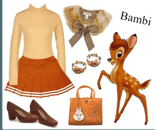 Bambi outfit - Disneybounding - Disney