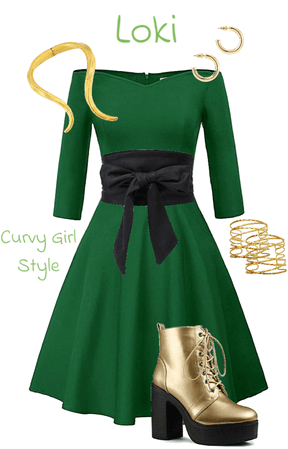 Comic-Con: Loki (Marvel) (Thor & The Avengers) (Curvy Girl Style)