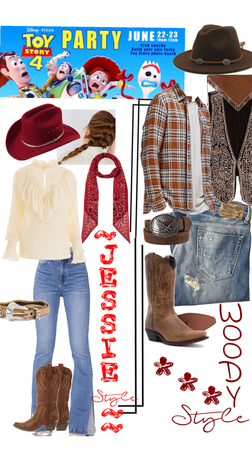 Style of Jessie & Woody