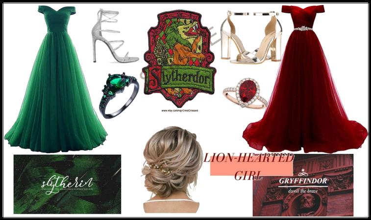 Gryffindor/Slytherin Yule Ball