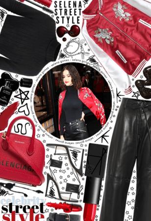 Celebrity Street Style: Selena Gomez❤