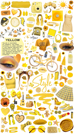 Shades of Yellow ✨💛