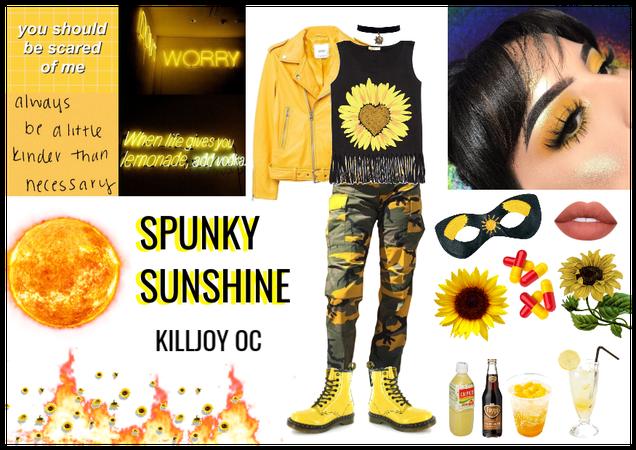 SPUNKY SUNSHINE - Killjoy OC