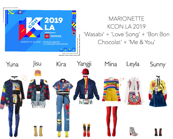 MARIONETTE (마리오네트) KCON Los Angeles 2019 | Performance