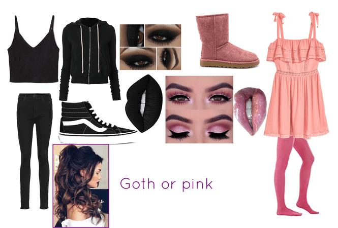 goth or pink