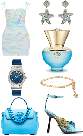 blue versace