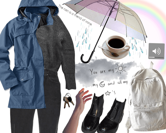 RAINY DAY STYLE (UMBRELLA DAY)