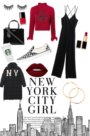 New York City outfit challenge