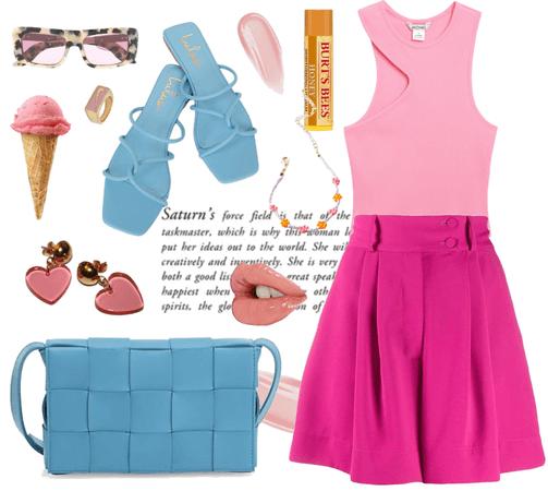 when pink meets blue