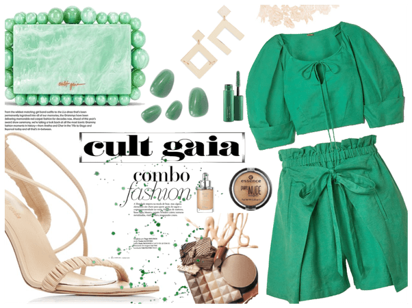 Green and nude