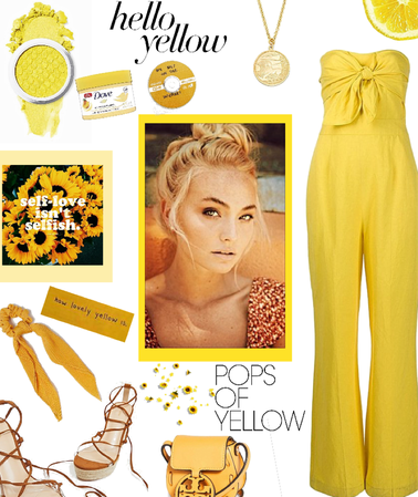 Yellow as a person