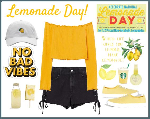 NO bad vibes on Lemonade Day