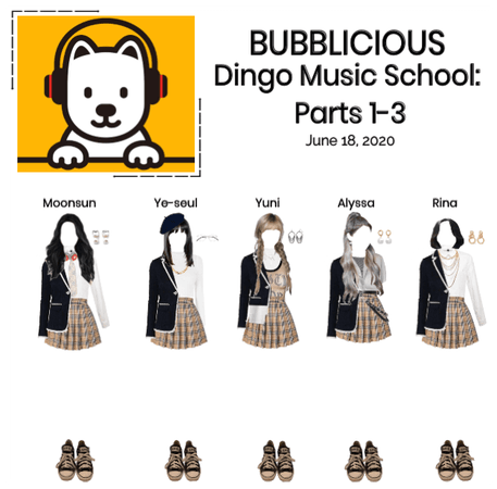 BUBBLICIOUS (신기한) Dingo Music School: Parts 1-3