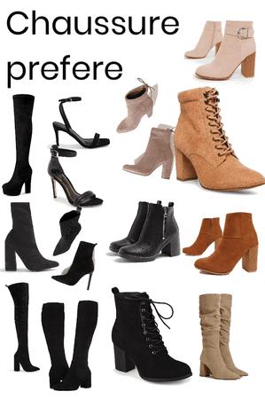 je vous montre mes chaussures préférées