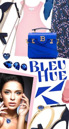 Bleu hue