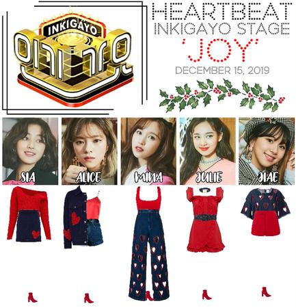 [HEARTBEAT] 121519 INKIGAYO STAGE | 'JOY'