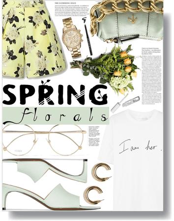 springtime floral 💐
