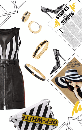 strip the runway with stripes