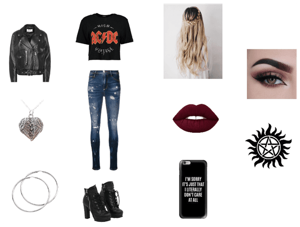 Supernatural Inspired Outfit