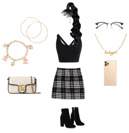 School girl baddie