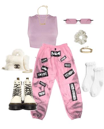 pink comfy