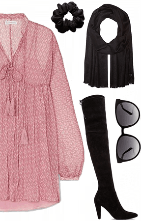 What I wear Pink For