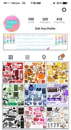 My ShopLook Based Instagram Account 😍🤍