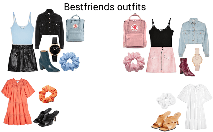 best friend 2 outfits