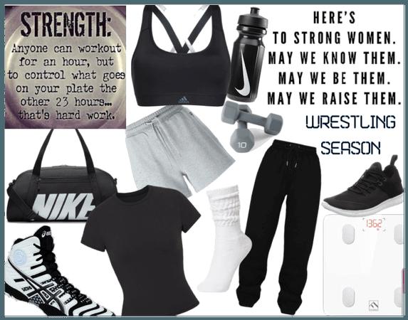 Wrestling/workout