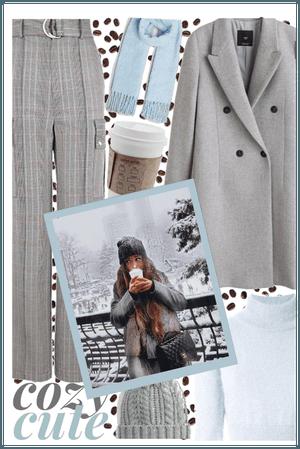 cozy coffee cutie 😊☕