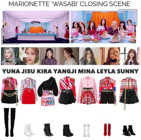 {MARIONETTE} 'Wasabi' Closing Scene