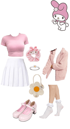my melody / Sanrio inspired outfit