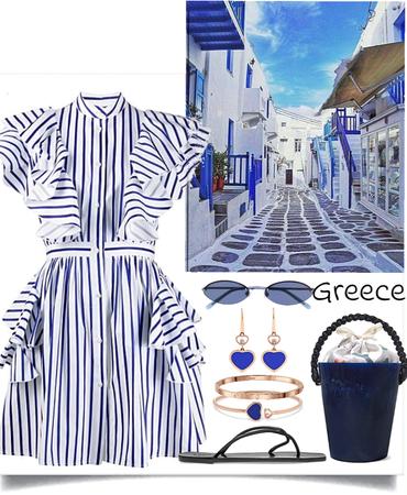 greece journey's look