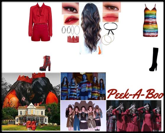 Peek A Boo- Red Velvet