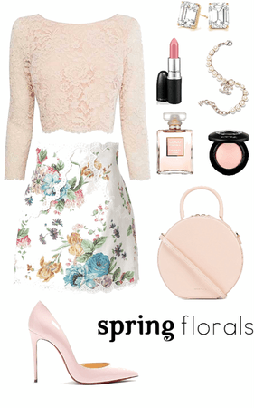 Floral & Lace for Spring