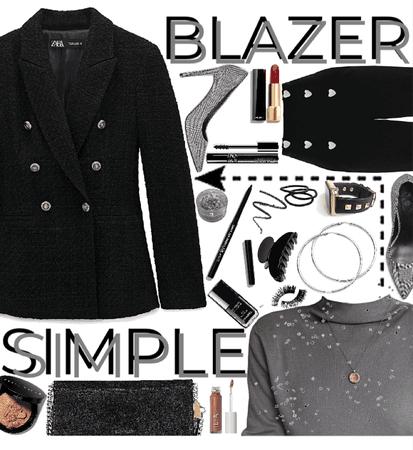 Simple Blazer Style