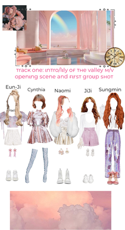 Intro/lily of the valley MV opening outfits