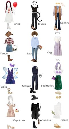 Zodiac Halloween Costumes