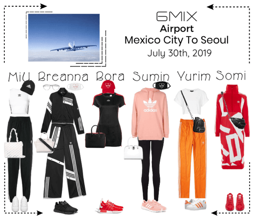 《6mix》Airport | Mexico City To Seoul