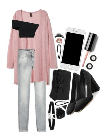 Pink + Grey + Black