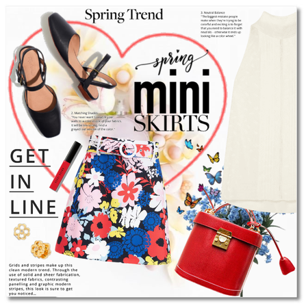 Spring Trend: The Floral Mini Skirt